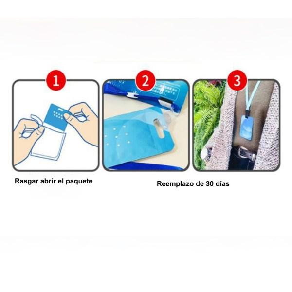 Tarjeta Sanitizante 30 Duración