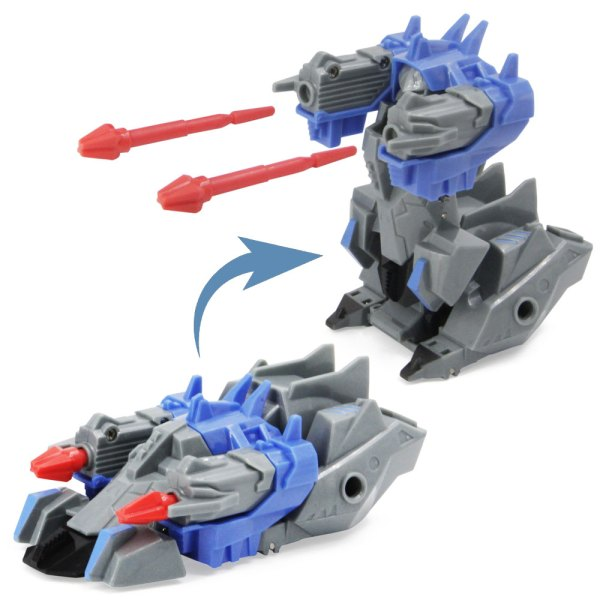 Carros tipo Transformers, Articulados y Gatillo Disparador