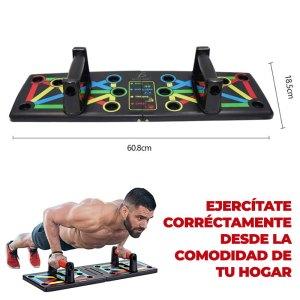 Barras Portátil Board Fitness Muscular De Lagartijas