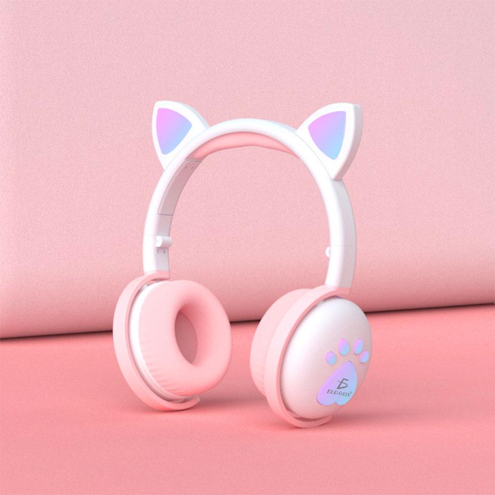 Audifonos rosa