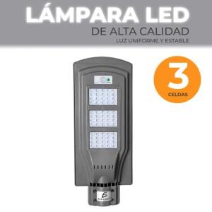 Lámpara Solar 60 Leds Sensor Movimiento Exterior