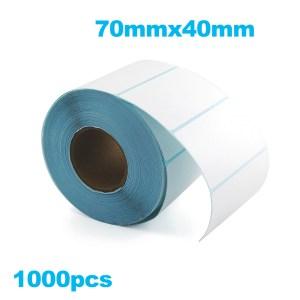Paper de Etiqueta Termica 70mmx40mm 1000PZAS