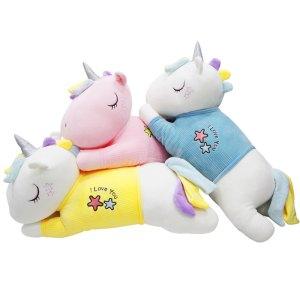 Unicornio Pony De Peluche Arcoiris Juguete Suave de 60cm