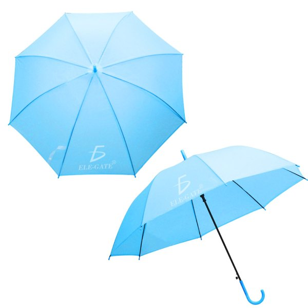 Paraguas Transparente De Colores Sombrilla Colores