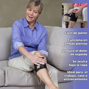 Rodillera terapéutica magnética para el dolor lumbar y la ciática
