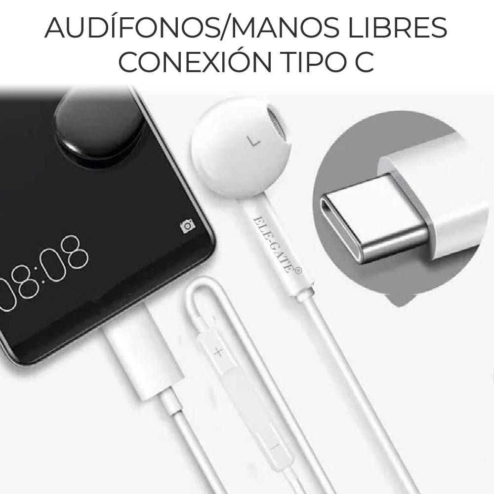 Audífonos Auriculares Digitales Tipo C Compatible Huawei Samsung