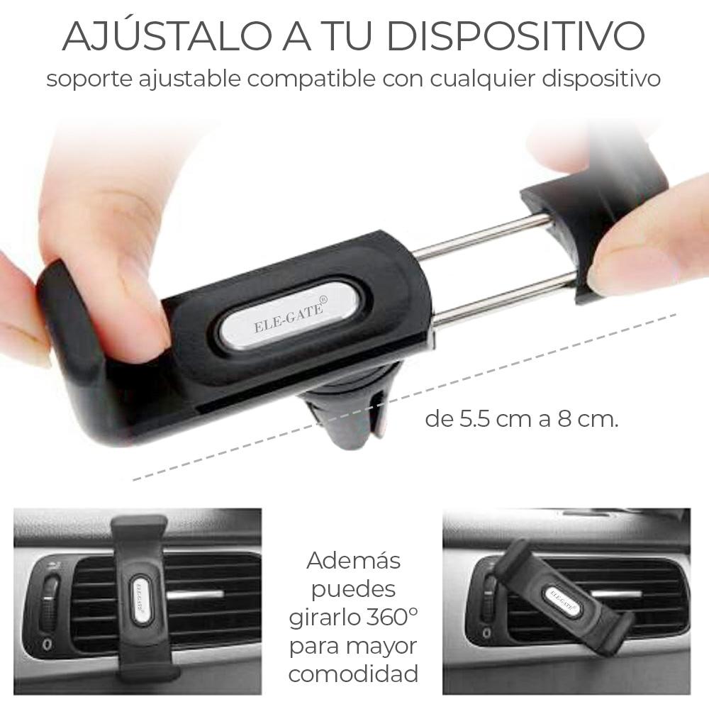 Soporte Celular Para Carro Auto Rejilla
