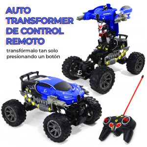 Carro Transformer Control Remoto Recargable