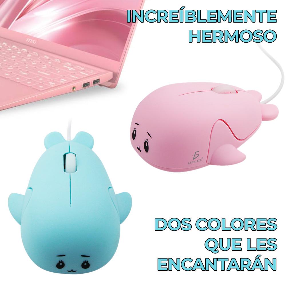 Mini Mouse Optico Alambrico Usb Para Niño