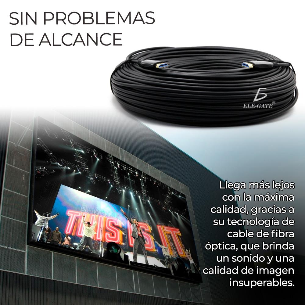 Cable Hdmi 100 Metros Fullhd 4K Para Pantalla grande