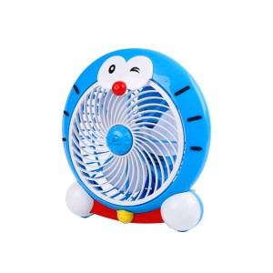 Ventilador de Pared y de Piso Plástico forma de Doraemon