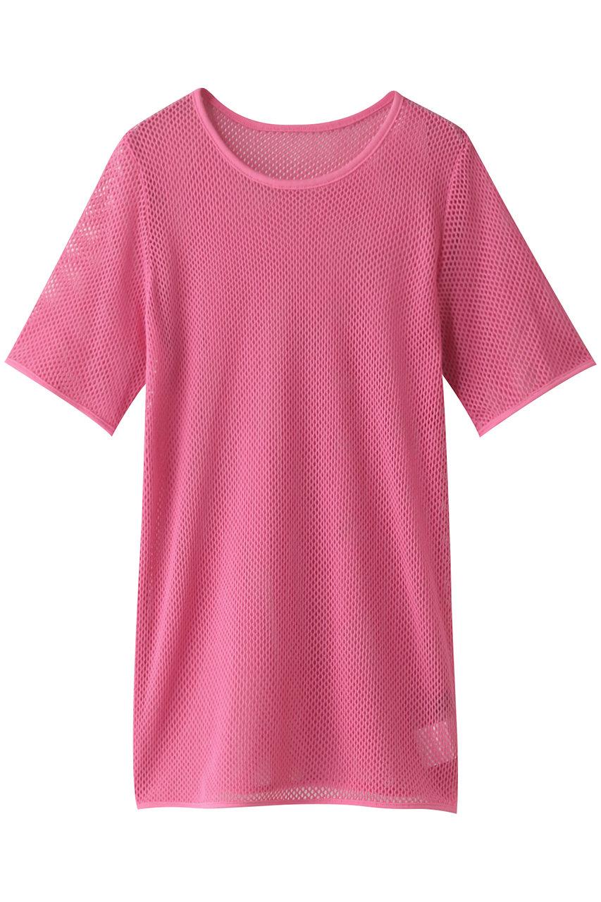 MAISON SPECIAL メゾンスペシャル コットンメッシュTシャツ PNK(ピンク)