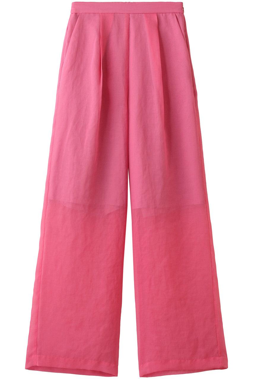 SALE 【30%OFF】 MAISON SPECIAL メゾンスペシャル シアーワイドイージーパンツ PNK(ピンク)
