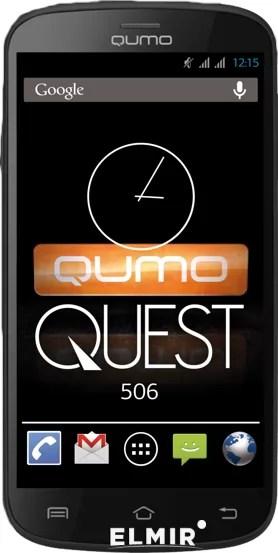 Мобильный телефон Qumo Quest 506 Black купить | ELMIR ...
