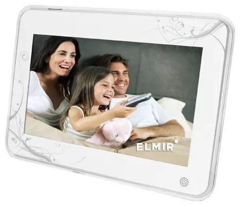 Цифровая фоторамка Ergo NT-2705 White купить недорого ...