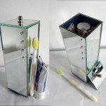 Porta Escova Dentes Espelho C Strass Decorativo Banheiro No Elo7 Shop2313 Linha Espelhada Decorativa 108b377