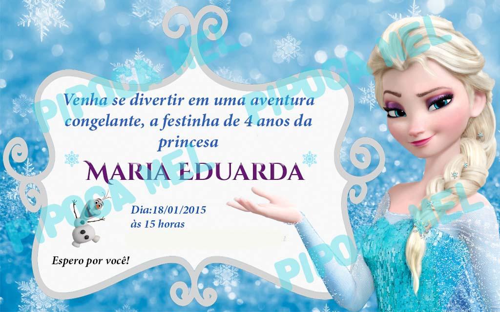 Convite De Aniversario Online