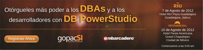 Otorgueles mas poder a los DBAs y a los desarrolladores con DB PowerStudio