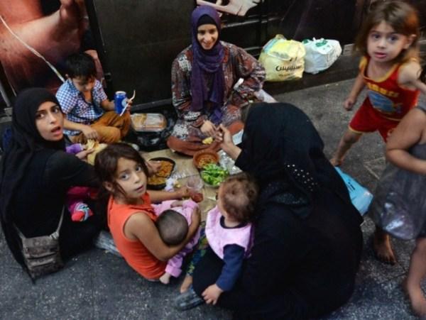 beirut - pengungsi Suriah 1