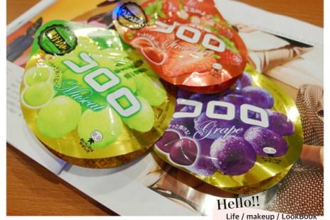 日本必買伴手禮|UHA味覺糖 コロロ 像喝果汁般的軟糖(含牛肉成份)
