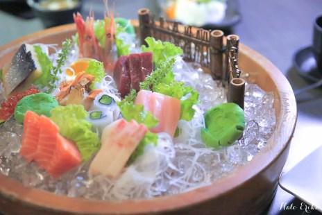 花蓮美食推薦 叁丸日式料理 隱身在巷弄的日式老宅 CP值很高的巨無霸日式料理