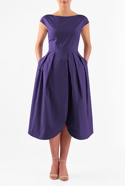 eShakti Women's Tulip dress