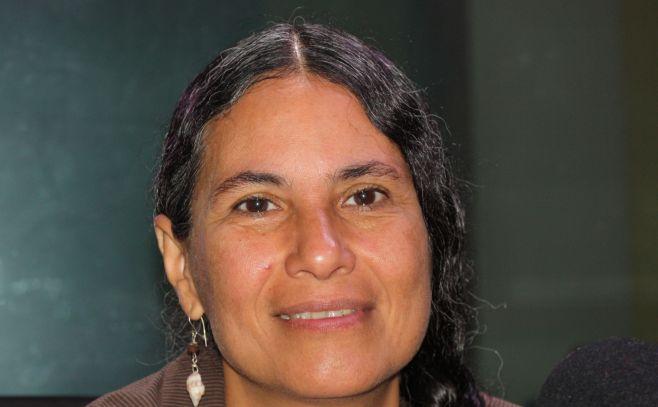 Mónica Michelena, asesora de Asuntos Indígenas en la Unidad Étnico Racial del Ministerio de Relaciones Exteriores. .