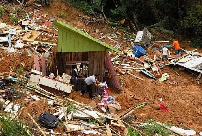 Tragédia em Santa Catarina