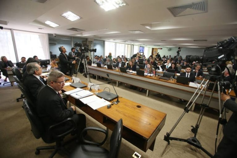 A Comissão Especial do Impeachment no Senado