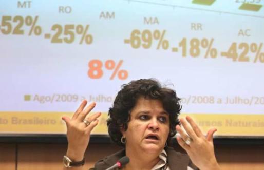 Em Brasília, Ministra Izabella Teixeira fala sobre as queimadas que estão ocorrendo no País