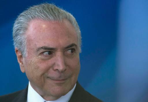 Câmara dos Deputados barrou denúncia contra o presidente Michel Temer
