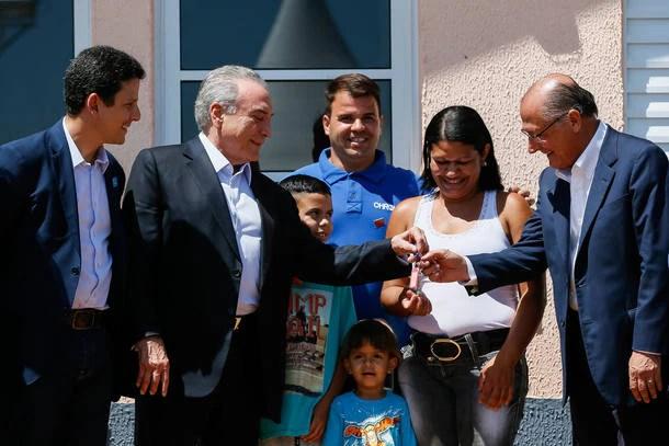 Michel Temer e Geraldo Alckmin