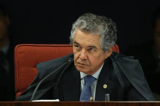 O ministro do STF, Marco Aurélio Mello