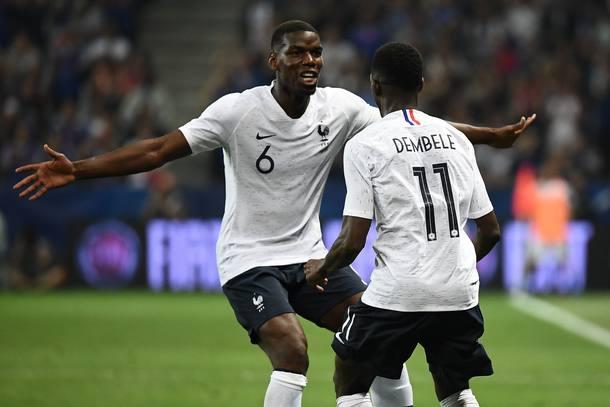 Dembélé e Pogba