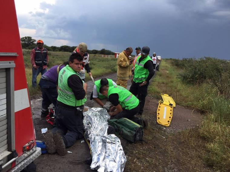 México - acidente aéreo