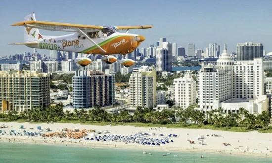 Matheus Struck Broglio sobrevoa Miami