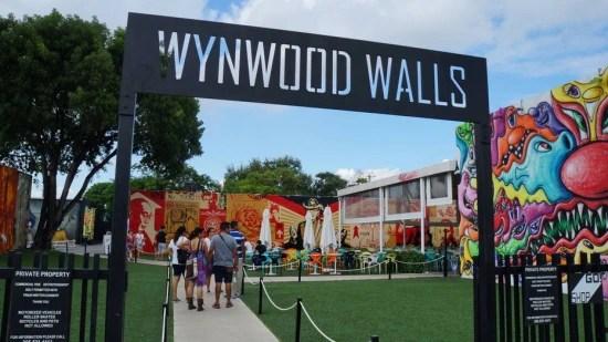 A turnê começa em Wynwood Walls (Murais de Wynwood)