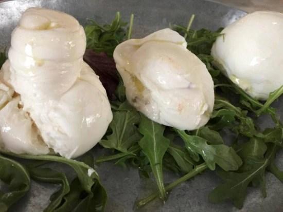 Três tipos de mozzarella caseirado Ni.Do.