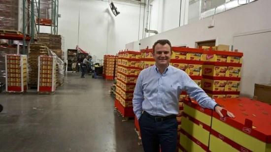 Erik Volavicius, diretor de marketing da Bauducco em Miami, está na empresa desde 2008