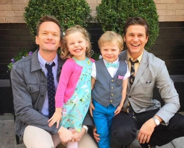 O ator Neil Patrick Harris é casado e tem dois filhos