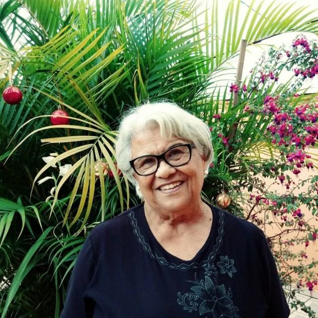 Vera Maria de Moraes tem 74 anos de idade.
