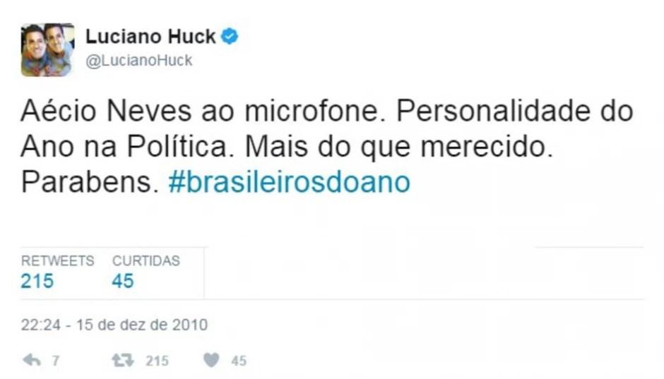 Twitter / @LucianoHuck