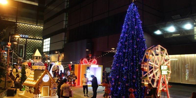 台南 浪漫滿點『耶誕村』情侶甜蜜IG打卡新地標,單身狗請記得戴墨鏡! 台南市中西區|新光三越西門店