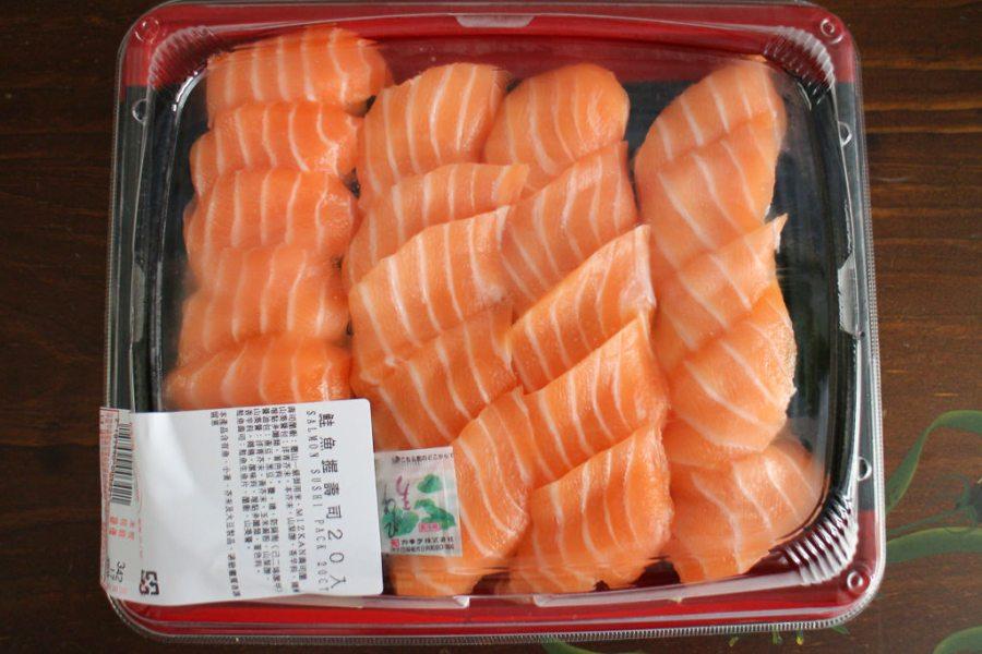 好市多Costco高雄店 平價鮭魚握壽司的好選擇 好市多食品|鮭魚握壽司