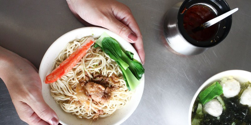 台南 檸檬竟然也能入菜搭配肉燥做成乾拌麵,絕妙的搭配意外迸出涮嘴好滋味 台南市中西區 李家食堂