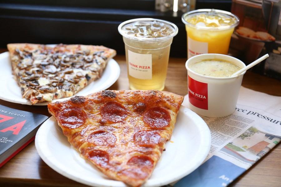 台南 武聖夜市附近紐約披薩店,低調沉穩的裝潢既好拍又好吃 台南市中西區 Think pizza