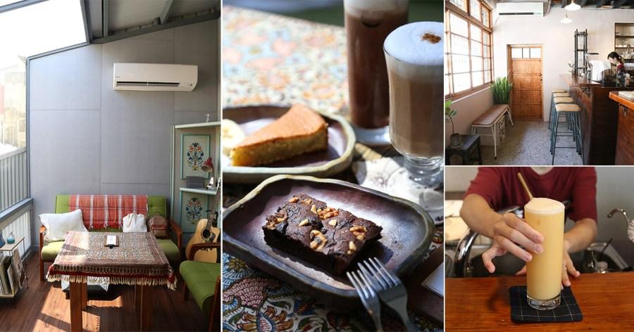 台南 巷弄裡的老屋咖啡甜點店,在閣樓用餐有種秘密基地的感覺 台南市中西區 聶樓