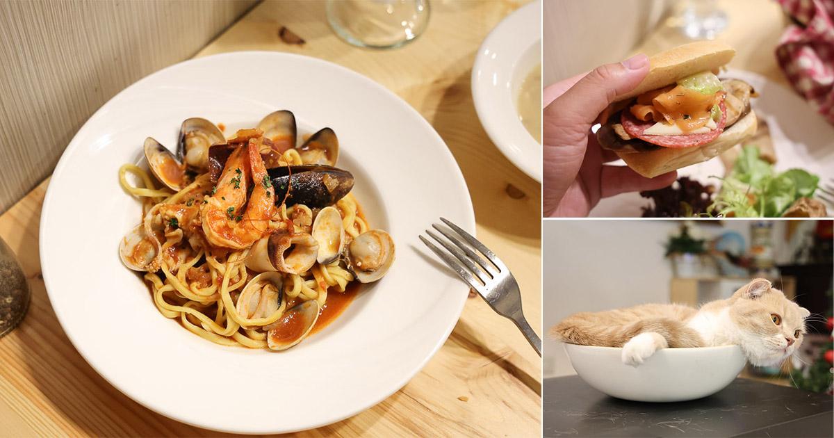台南 享受義大利老闆的美味料理,義大利麵手工麵口感Q彈,主餐甜點冷盤都讓人回味 台南市東區|Ciao bella