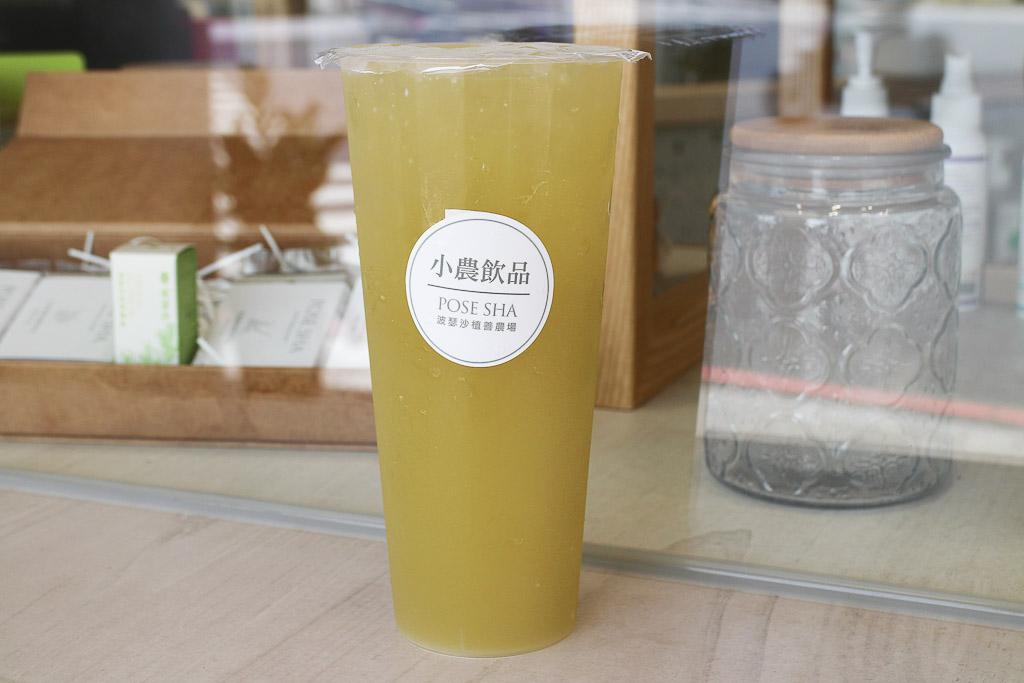 台南 甘蔗系列飲品好喝又協調,自榨甘蔗風味濃厚,搭配不同水果呈現各式變化 台南市東區|小農飲品