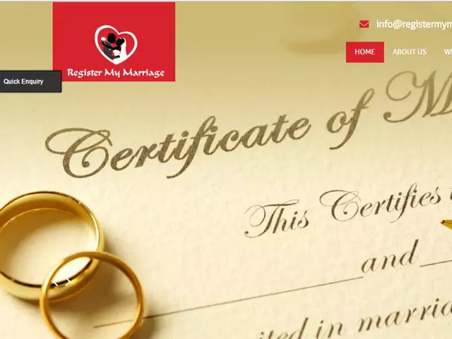 It is now easier to get a marriage certificate in Telangana via gram panchayat offices